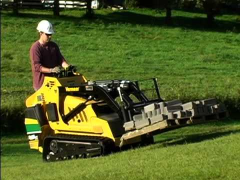 S800tx Mini Skid Steer With Forged Forks Vermeer Tree Care