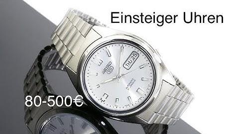 Einsteiger Uhren von 80-500€