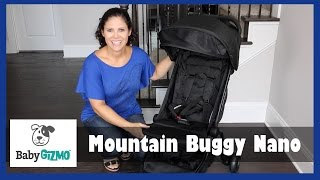 Mountain Buggy Nano Stroller Review by Baby Gizmo