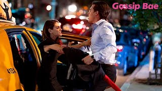 Mila Kunis argues with Finn Wittrock during a scene on the set of 'Luckiest Girl Alive' - Gossip Bae