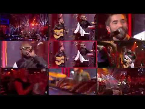 Maître Gims & Kendji Girac - Bella (live) - réalisation Taratata
