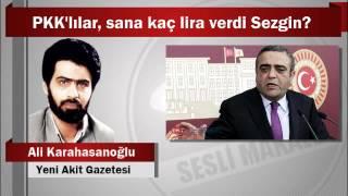 Ali Karahasanoğlu : PKK'lılar, sana kaç lira verdi Sezgin?