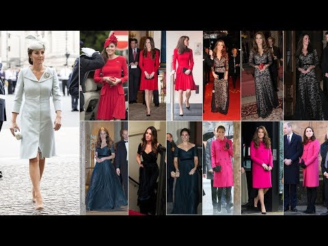 KATE recycling outfits over the years will inspire you to take a second look at your own closet