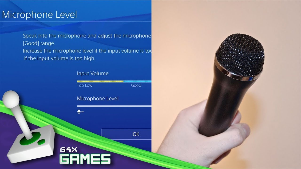 PS4 How to record MICROPHONE sound, Recording gameplay with SHARE button  TUTORIAL