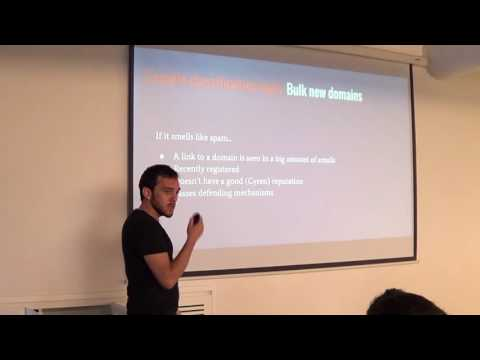 Near real time stream processing with Kafka and Samza – Spam detection - Michael Sklyar @Cyren (Heb)