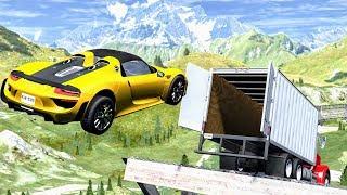 Crazy Jumps #4 – BeamNG Drive Crashes | CrashBoomPunk