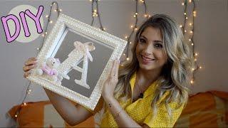 DIY: Como fazer porta maternidade | Quadro decorado