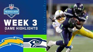 Los Angeles Chargers vs. Seattle Seahawks | Preseason Week 3 2021 NFL Game Highlights