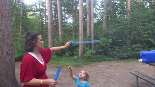 Campground Bubbles - Deer Lake Campground - Chippewa National Forest - Minnesota