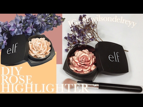 Thumbnail: D.I.Y - Rose Highlighter | wilsondelrey