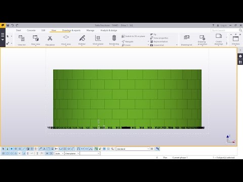 Fuel Storage Tank Creation Part -1 in Tekla Structures 2016