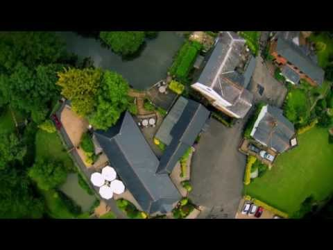 Aerial Wedding Cinematography - Coltsford Mill Wedding