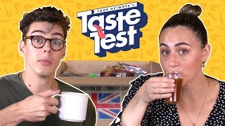 We Tried British MRE (Meal, Ready-to-Eat) Foods | TASTE TEST