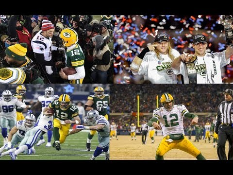 Ranking Aaron Rodgers Best Games (All time)