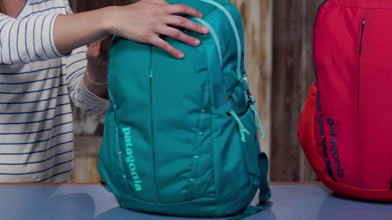 0f4c87627e Patagonia Refugio Backpack 28L and Women s Refugio Backpack 26L YouTube