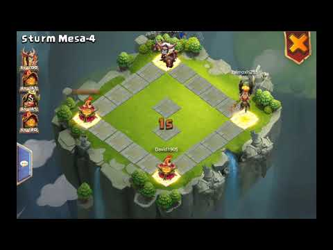 Castle Clash Best Storm Mesa Team 2018