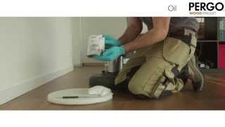 How To Refinish A Wood Floor - Pergo Wood Parquet - Machine Intensive Care