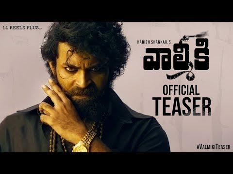 Watch Varun Tej's Valmiki Teaser Trailer