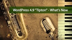 What's New in WordPress 4.9