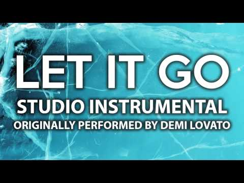 Let It Go (Cover Instrumental) [In the Style of Demi Lovato]