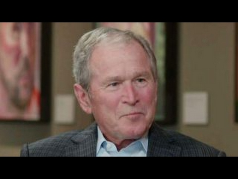 George W. Bush opens up about 'Portraits of Courage'