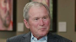 George W  Bush opens up about 'Portraits of Courage'