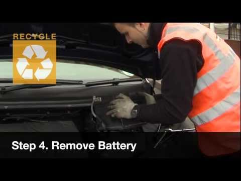 How to Change/Fit a Car Battery