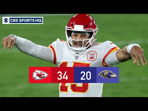 Week 3 Recap: Patrick Mahomes and Chiefs dominate Lamar Jackson and Ravens  CBS Sports HQ
