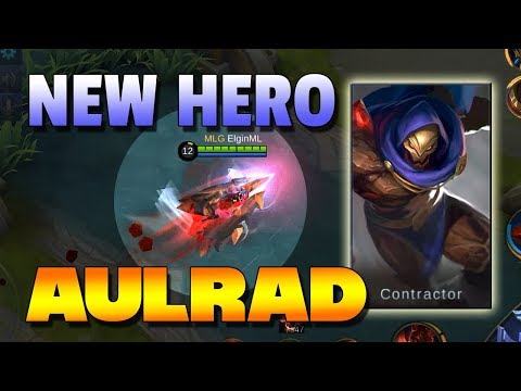 AULRAD - THE HOMING MISSILE HERO - NEW HERO MOBILE LEGENDS