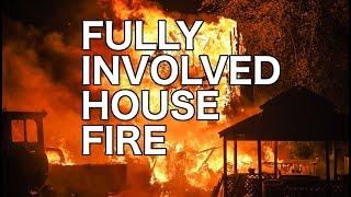 High winds fuel house fire near Shenandoah, Pa. - 10/17/2019