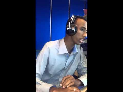 Abdinoor Aden live reading news