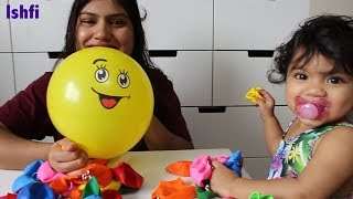 Smiley Balloons Color Song for Kids with Radia