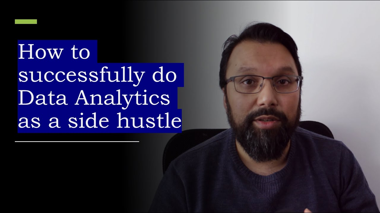 Download How to successfully start a data analytics side hustle