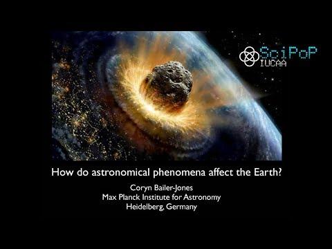 Effects of Astronomical Phenomena on Earth - Coryn Bailer-Jones [29 Jan, 2016]