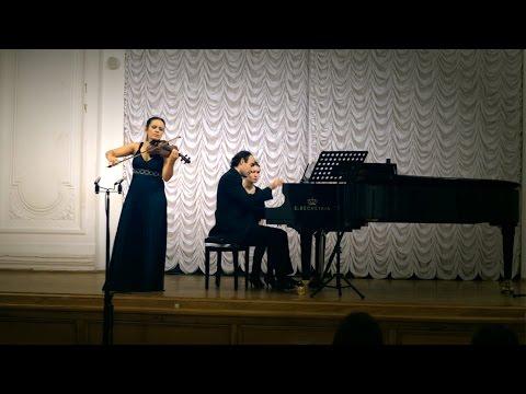 Camille Saint-Saëns. Introduction and Rondo Capriccioso, op.28. Maria Shalgina, Oleg Weinstein
