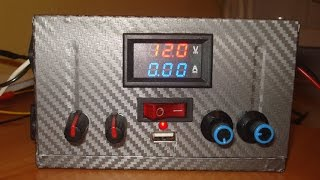 Лабораторний блок живлення з комп'ютерного ATX
