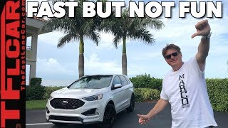 Here's Why The 2019 Ford Edge ST Is a Fine Crossover But Not a True ST