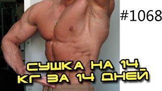 Как похудеть на 5 или 10 кг? День 1 из 14! Похудение - сушка на 14 кг за 14 дней с Юрием