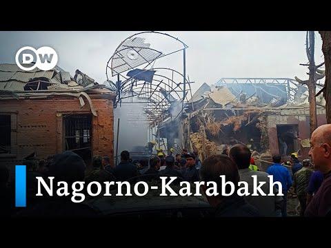 Nagorno-Karabakh: Azerbaijan Accuses Armenia Of Attack On Ganja | DW News