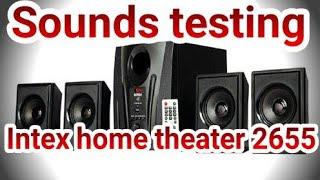 Intex home theatre model 2655