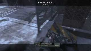 SnD Outpost Gameplay/Com (Modern Warfare 3)
