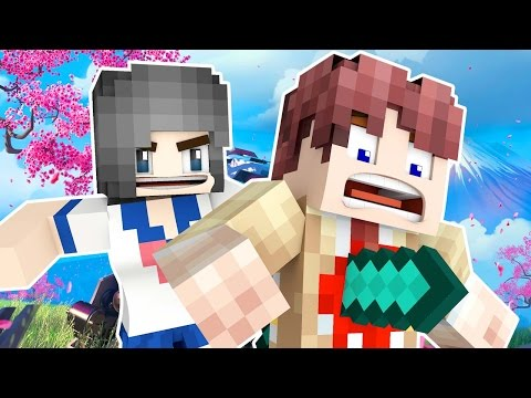 MURDER IN YANDERE SIMULATOR! - Minecraft Murder Roleplay!