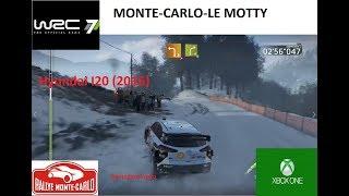WRC 7-Monte Carlo-Le Motty-HYUNDAI I20 (CHASE CAM)