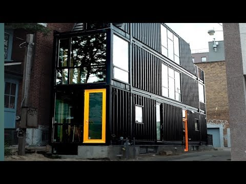 Amazing The Toronto Container House