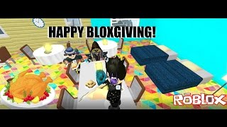 Bloxgiving/Roblox story Welcome to Bloxburg