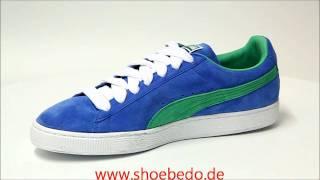 Puma Sneaker Suede Classic Eco palace blue-greenbriar ... f04fb7c36