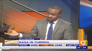 Power Breakfast: NASA in turmoil