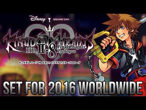 Kingdom Hearts 2.8 Set for 2016 Worldwide!