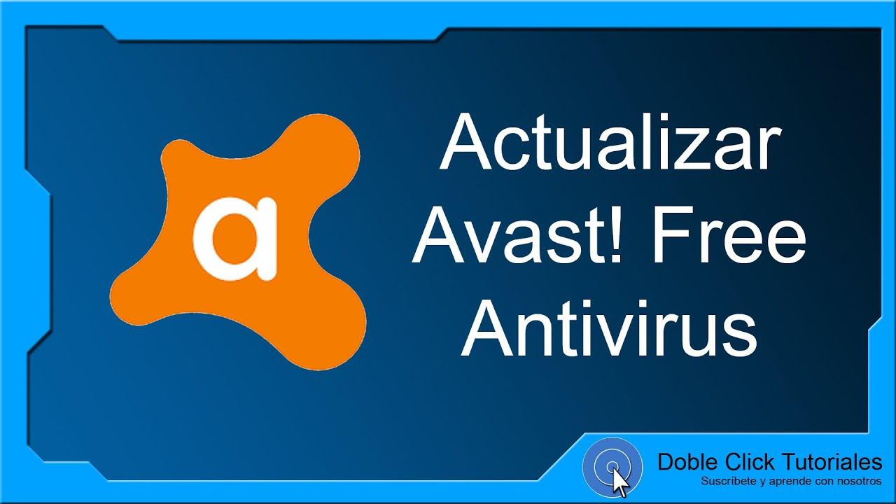 descargar actualizaciones avast free antivirus gratis