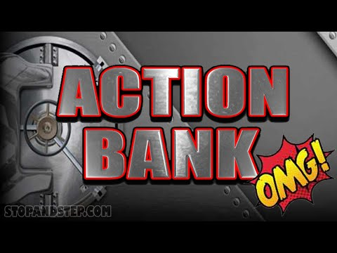 Action Bank FREE SPINS BONUS with RE-TRIGGER - 동영상